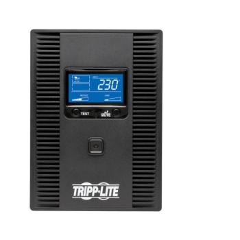 Tripp Lite SmartPro 230V 1.5kVA 900W Line-Interactive UPS, Tower, LCD, USB